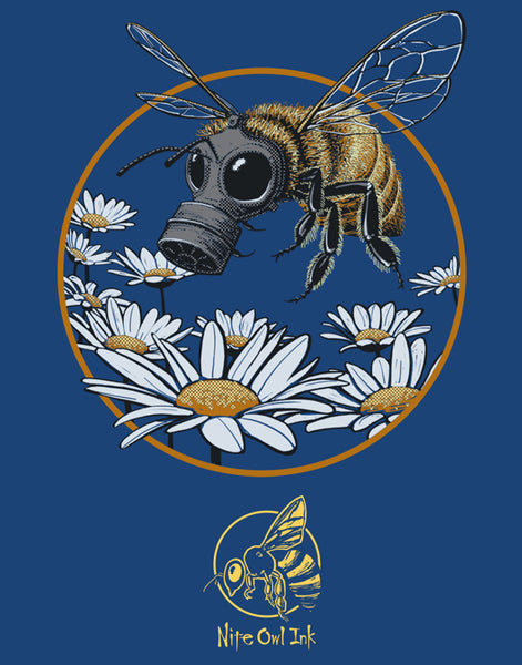 Honey Bee Men's Recycled Eco-Friendly Performance Tee