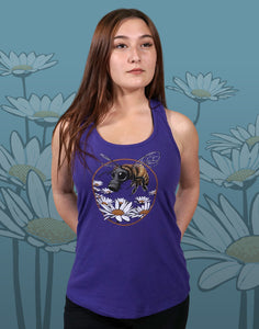 Honey Bee Junior Women's Racerback Tank