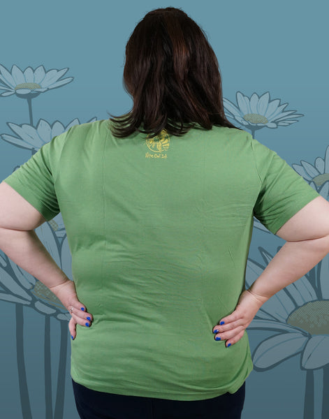 Honey Bee Plus Size Women's V-Neck