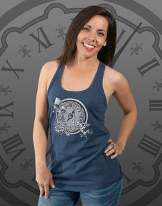 Mad Hatter Junior Women's Racerback Tank