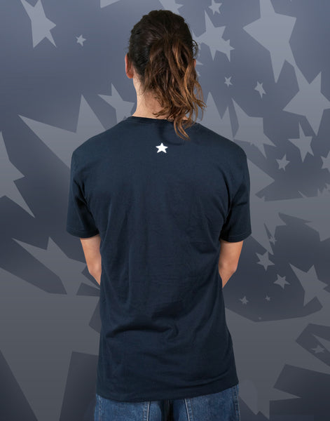 Star Surfer Men's Fitted Crew Neck
