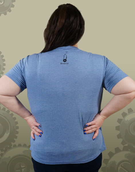 Tree Cog Plus Size Women's V-Neck