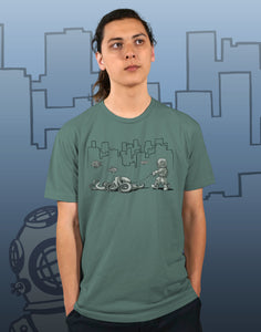 Walking Your Octopus Men's Recycled Eco-Friendly Performance Tee
