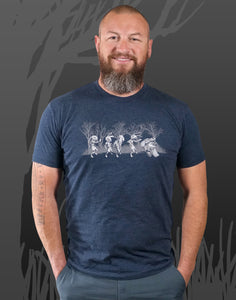 Zombie Run Men's Fitted Crew Neck