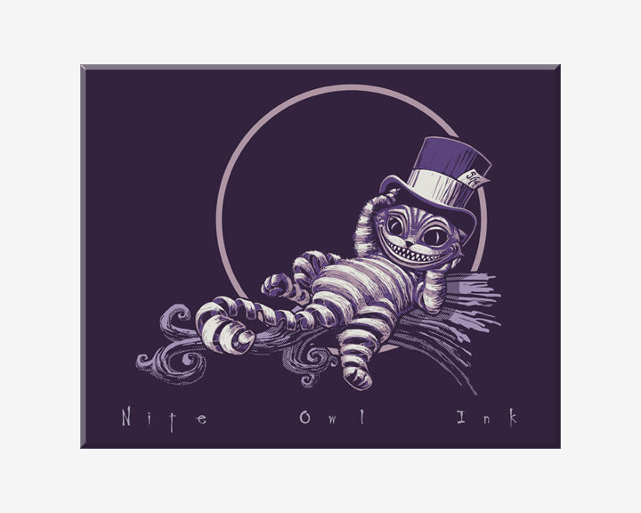 Cheshire Cat Color Art Print