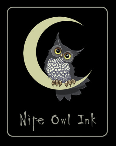 Nite Owl Vinyl Sticker