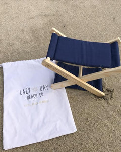 Little Beach Headrest - Navy
