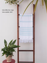 Load image into Gallery viewer, Turkish Towel - Breeze Towel Navy