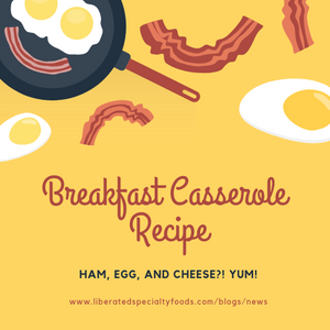 Ham, Egg, and Cheese Casserole Recipe