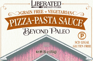 Liberated Pizza - Pasta Sauce, 16 oz. (454 g)