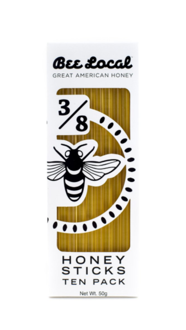 Bee Local Honey Sticks