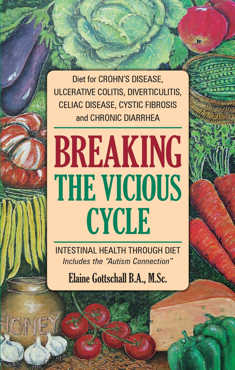 Breaking the Vicious Cycle was written by Elaine Gottschall, biochemist and cell biologist.