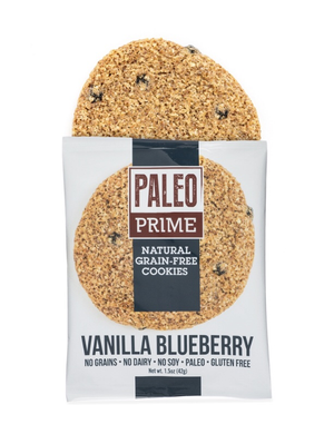 Paleo Prime Cookie, Vanilla Blueberry