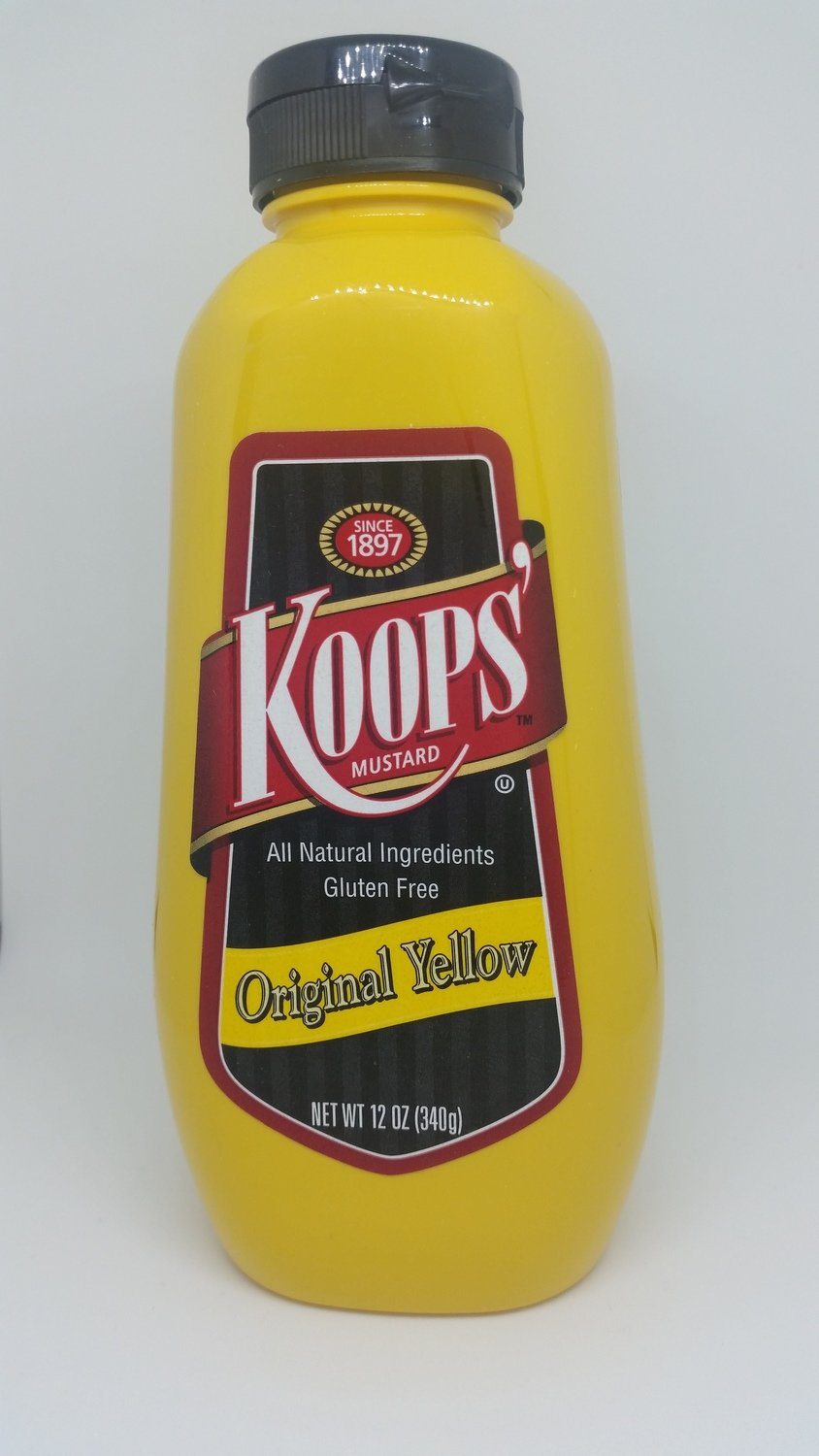 Koops' mustard is a perfect compliment to your backyard burger. Complete your condiment collection by adding Liberated Ketchup!