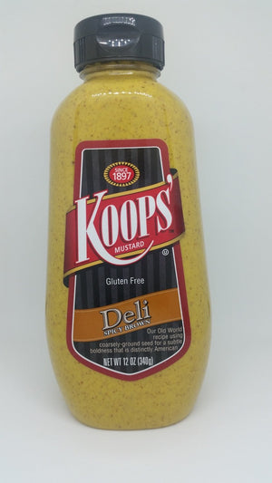 Koops' Deli Spicy Brown Mustard