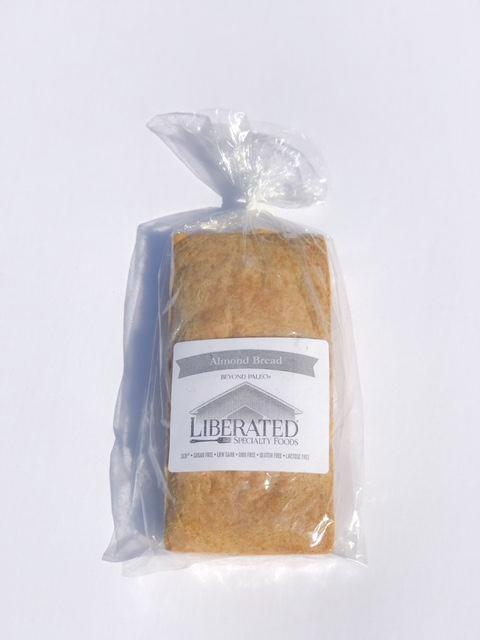 This almond flour based bread is moist, dense and makes a wonderful hearty sandwich base cold or grilled. Absolutely delicious grain free bread. Net Carb Percentage = 5%