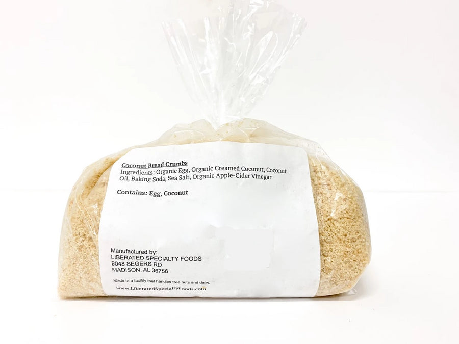Use these delicious bread crumbs in your favorite SCD or Paleo recipes as breading or topping. Great as a breading for chicken or seafood!  300 g in each bag.