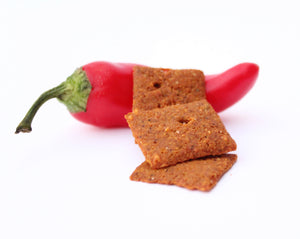 Crafted with herbs and spices hailing from the far east to Latin America, these warming flavors will make your taste buds happy. The savory crunch of these crackers will beat the taste of any chip and keep you from compromising your low carb diet.
