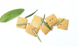 Finally, a crispy, grain free snack that you can feel good about! A perfect medley of savory Mediterranean herbs with a splash of extra virgin olive oil. A crunch, starch free, low carb snack that supports your lifestyle.