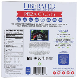 Paleo Pizza Crust (3 Count)