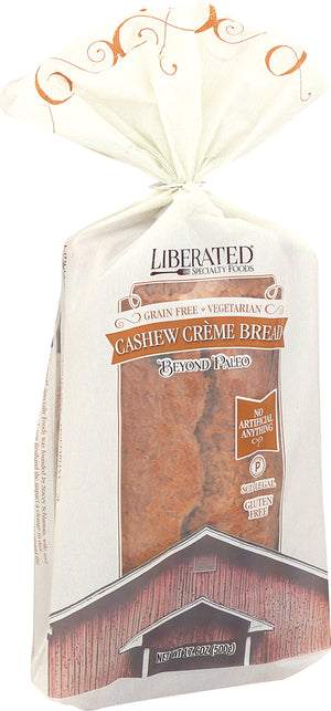 Rich, light, delicious. A great alternative to traditional almond-based breads. Made solely from coconut and cashews making it a perfect substitute for your sandwich bread, panini or toast.