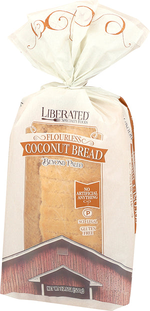 Coconut Bread, Flourless