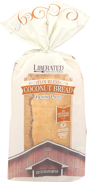 A slightly sweeter alternative to nut flour breads. Makes a fabulous option for those needing to eliminate almond and cashew nut flours.