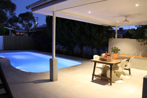OUTDOOR POOL YARD LIGHTING DESIGN