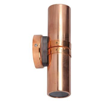 Rivet Copper Wall Light
