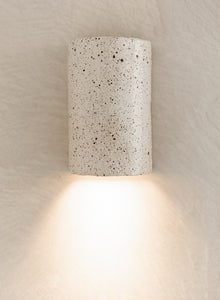 Handmade Ceramic Wall Light - Speckle