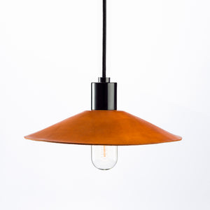 Hide Luxe Leather Pendant Light