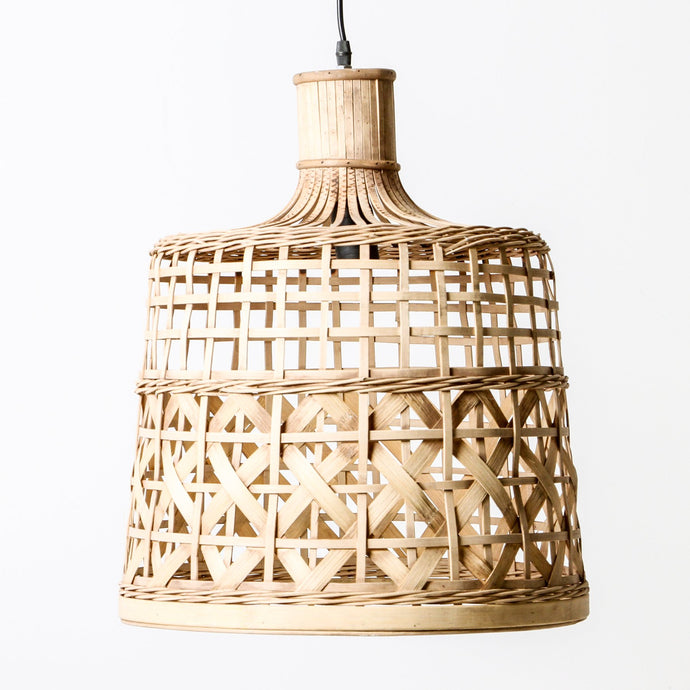 Morocco Cane Pendant Light