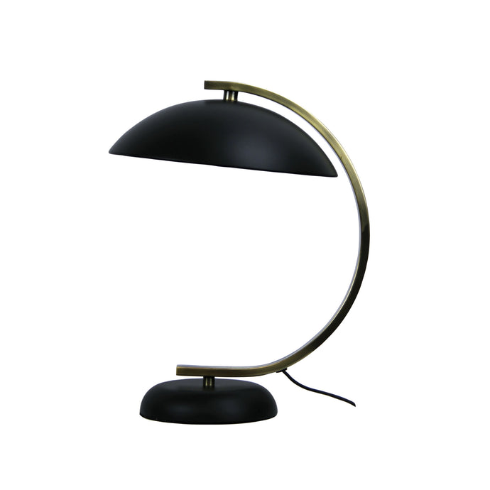 Rounded Arm Table Lamp