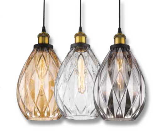 EVY Glass Pendants