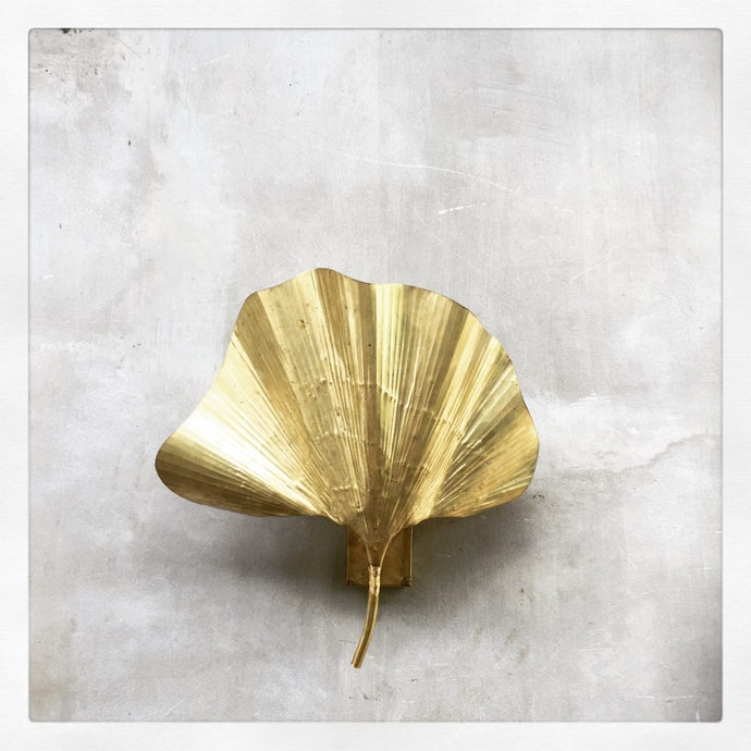 Ginkgo Leaf Wall Sconce