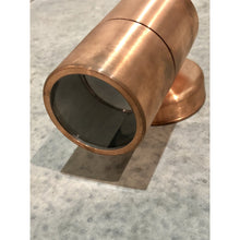 Solid Copper Wall Light- Down facing