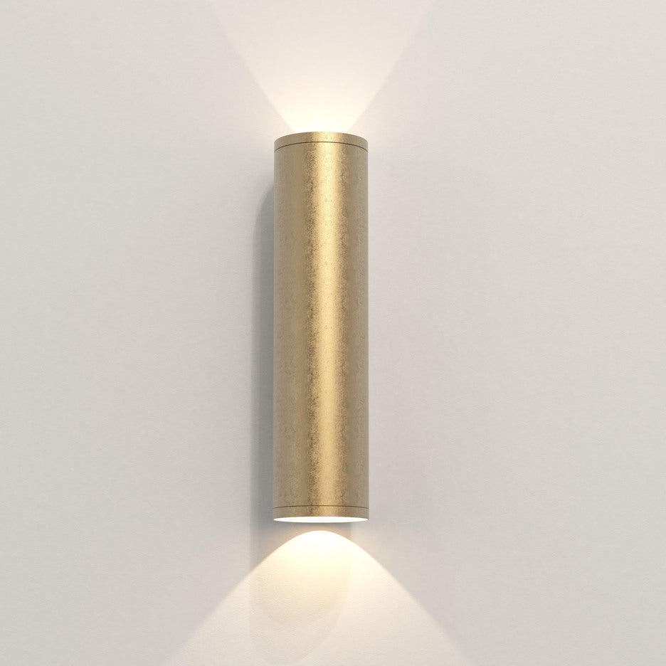 Extra Long Brass Wall Mount Light - Up Down