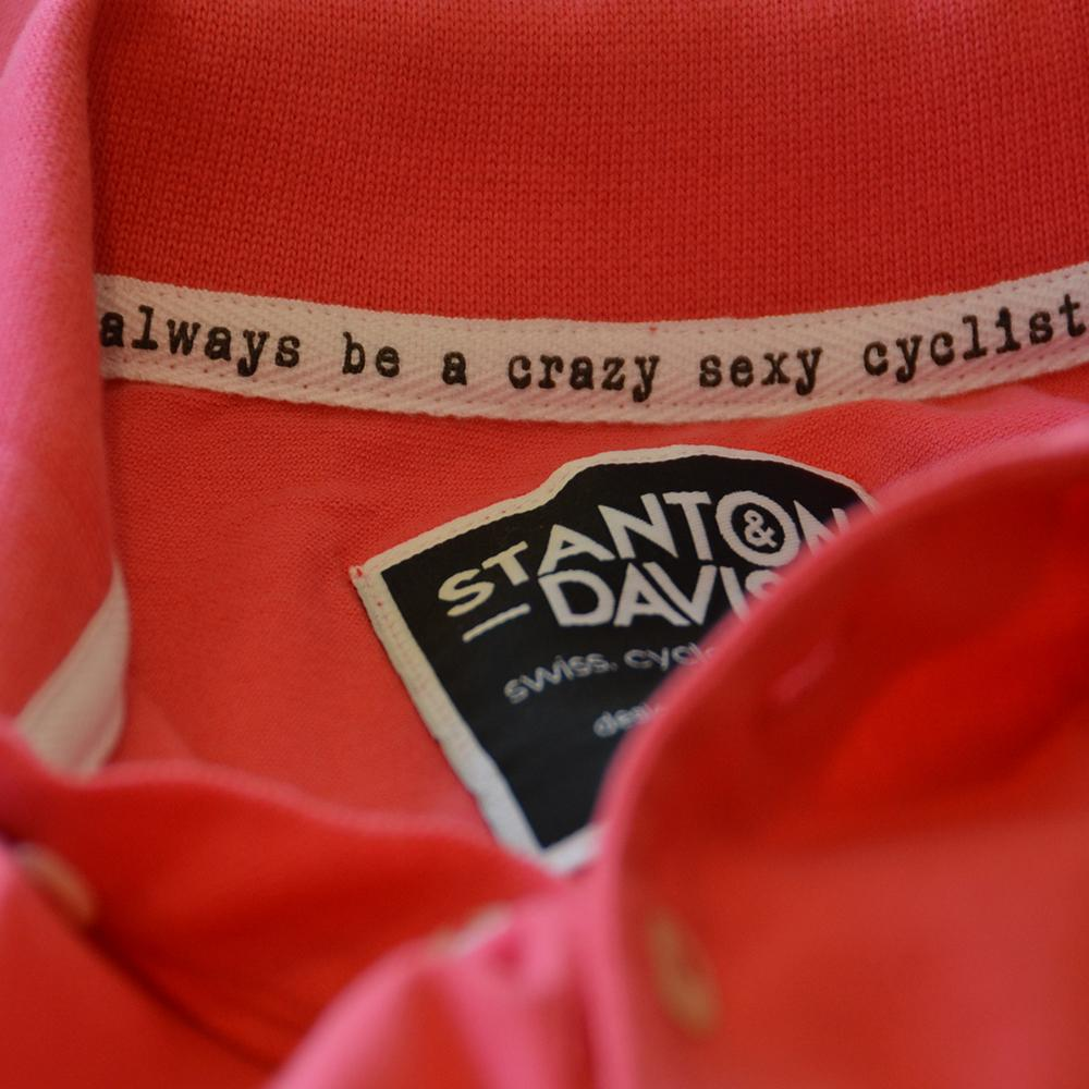 Pink Cyclo Polo