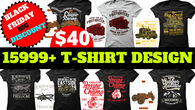 15999 Mega Tshirt Design Bundle Cheap Price for Christmas Big Discount