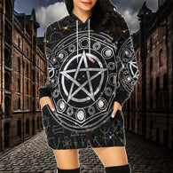 Wicca Magic Hoodie Dress