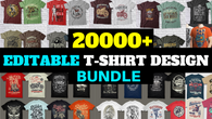 20000+VECTOR T SHIRT DESIGN BUNDLES SELL VERY CHEAP PRICE