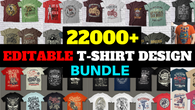 22000+ tshirt graphic design bundle for your tshirt business