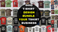 6000 t shirt vector bundles 2019 sell very cheap price