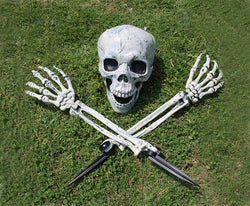 Halloween Skeleton Head | Halloween Skull Head Decoration