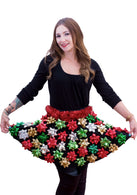 Christmas Bow Skirt - Ugly Christmas Sweater Party -