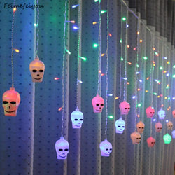 LED Halloween Lights Skull Style
