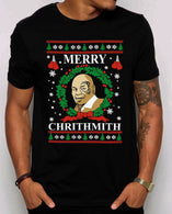 Funny Mike Tyson Parody Merry Chrithmith Ugly Christmas T Shirt cheap price 2020