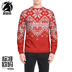 Best Christmas New Style Round-neck Long Sleeves Shirt 2019 Cheap Price