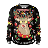 Funny Christmas Women Sweater Santa Claus Sweater 2019