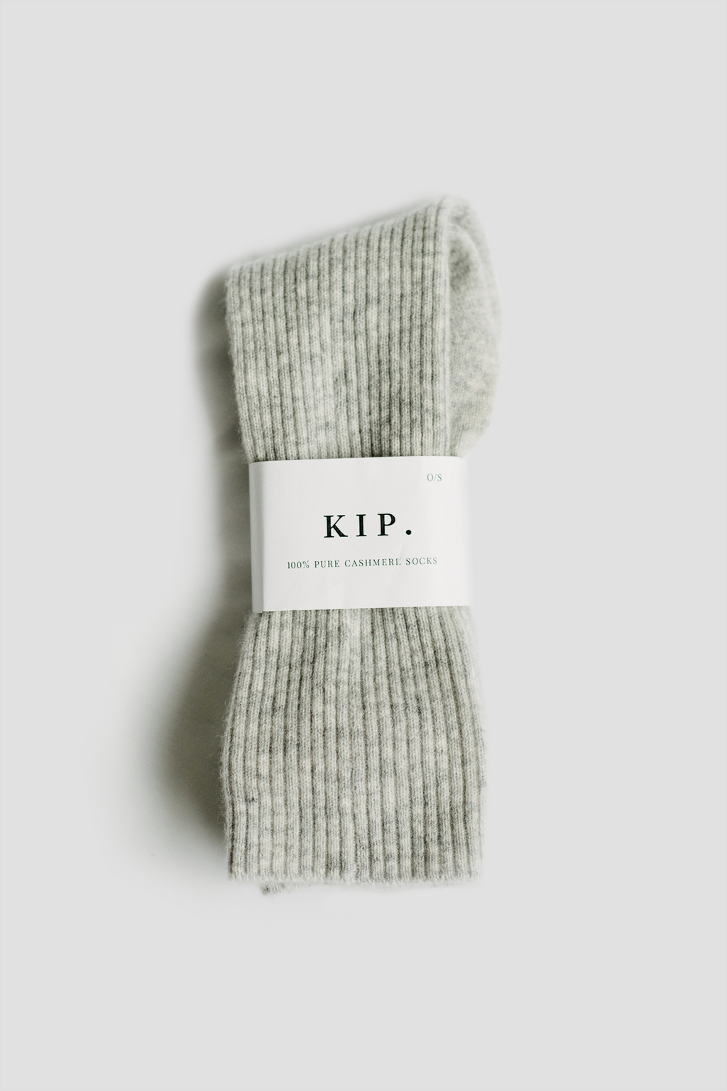 Cashmere Sleep Socks in Grey